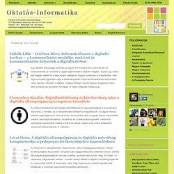 Oktatás-Informatika Folyóirat