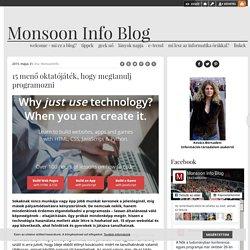 15 menő oktatójáték, hogy megtanulj programozni - Monsoon Info Blog