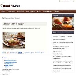 Oktoberfest Beef Burgers
