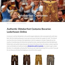 Oktoberfest Costumes - Fashion Clothing Online Shopping