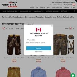 Authentic Oktoberfest Costumes Bavarian Lederhosen Online