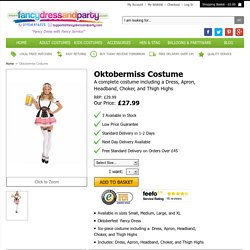 Oktobermiss Costume - Fancy Dress and Party