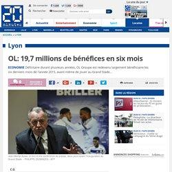 OL: 19,7 millions de bénéfices en six mois