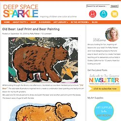 Old Bear Art Lesson
