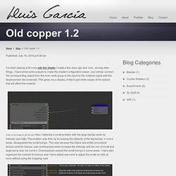 Old copper 1.2 « Lluis Garcia