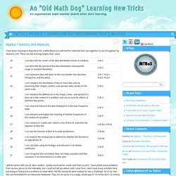 "An ""Old Math Dog"" Learning New Tricks"