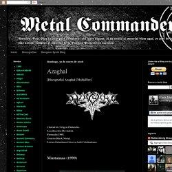Old Metal Commander: Azaghal