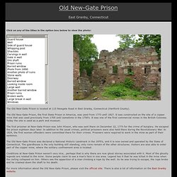 Old New-Gate Prison