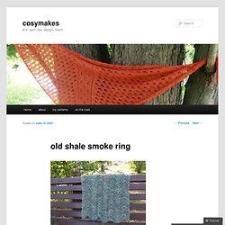 old shale smoke ring