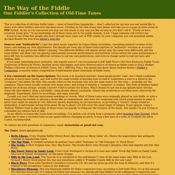 Old-Time Fiddle Tunes
