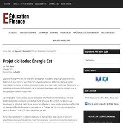 Projet d'oléoduc Énergie Est