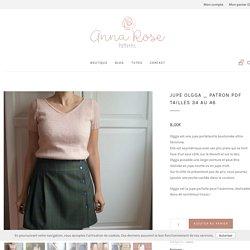 JUPE OLGGA - Patron de couture - Anna Rose patterns
