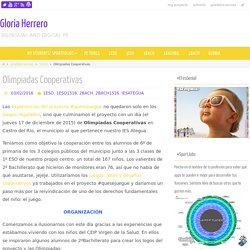 Olimpiadas Cooperativas – Gloria Herrero