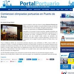 Comienzan olimpiadas portuarias en Puerto de Arica