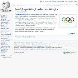 Portal:Juegos Olímpicos/Bandera Olímpica