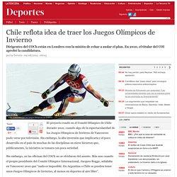 Chile reflota idea de traer los Juegos Olímpicos de Invierno