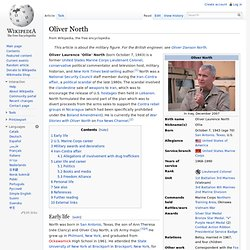 Oliver North, wikipedia
