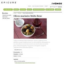 Olives marinées Molto Bene
