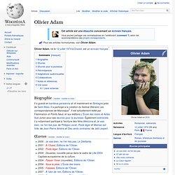 Wikipedia - Olivier Adam