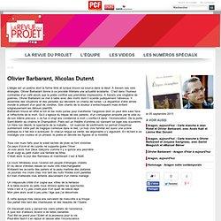 Olivier Barbarant, Nicolas Dutent