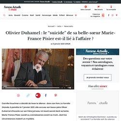 """Olivier Duhamel : le """"suicide"""" de sa belle-sœur Marie-France Pisier est-il lié à l'affaire ? : Femme Actuelle Le MAG"""