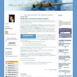 Le Blog d'Olivier Seres: ZiddlyWiki : le must de la ToDoList (AMHA)