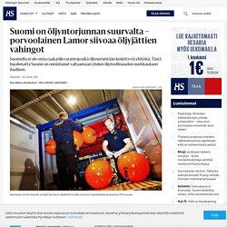 Suomi on öljyntorjunnan suurvalta – porvoolainen Lamor siivoaa öljyjättien vahingot - Öljy