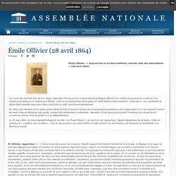 Émile Ollivier (28 avril 1864) - Histoire - Grands moments d'éloquence