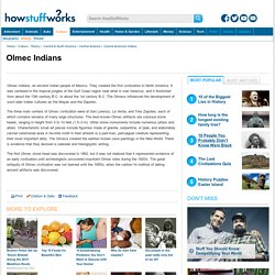 Olmec Indians