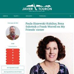 Paula Olszewski-Kubilius, Rena Subotnik y Frank Worrell en My Friends' corner