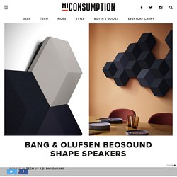 Bang & Olufsen BeoSound Shape Speakers