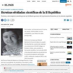 Heroínas olvidadas: científicas de la II República