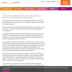 Las víctimas 'olvidadas' de Franco: violencia sexual, tortura y humillación contra las mujeres