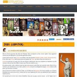 Zeus dieu de l'olympe - Mythologie grecque et mythes grec