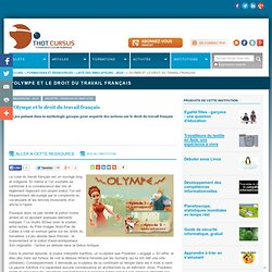 L'Olympe et le droit du travail français