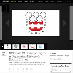 100 Years Of Olympic Logos: A Depressing History Of Design Crimes