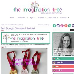 The Imagination Tree: Salt Dough Olympic Medals!