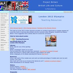 London 2012 Olympic Teaching Resources