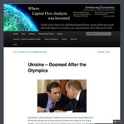 Ukraine – Doomed After the Olympics