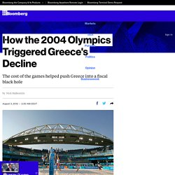 How the 2004 Olympics Triggered Greece's Decline