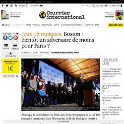 Jeux olympiques. Boston : bientôt un adversaire de moins pour Paris