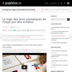 Le logo des Jeux olympiques de Tokyo par des enfants - Graphéine - Agence de communication Paris Lyon