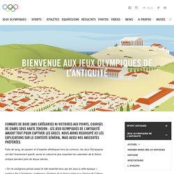 Jeux Olympiques de l'Antiquité Histoire Mythologie Athlète Sports