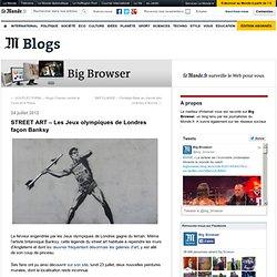 STREET ART – Les Jeux olympiques de Londres façon Banksy