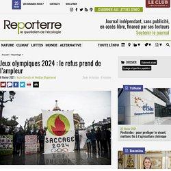 Jeux olympiques 2024: le refus prend de l'ampleur