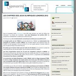 Les chiffres des Jeux Olympiques Londres 2012