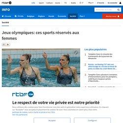 Jeux olympiques: ces sports réservés aux femmes