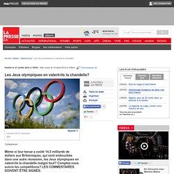 Les Jeux olympiques en valent-ils la chandelle?