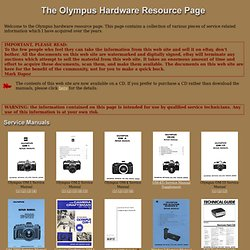 The Olympus Hardware Resource Page