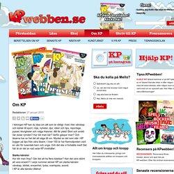 Om KP - KP-webben